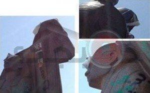 حقيقة تكسير الأخوان تمثال نهضة مصر