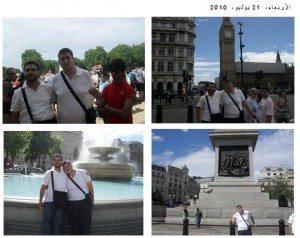 حقيقة تواجد ابن خيرت الشاطر في لندن وقت اعتصام رابعة