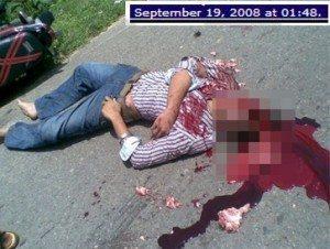 حقيقة صورة قتيل في رابعة