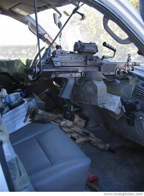 حقيقة السيارة المسلحة في سيناء