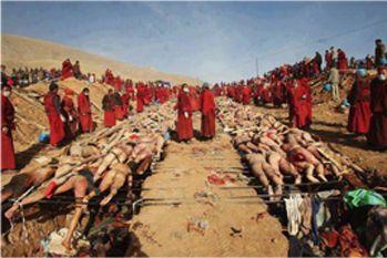 حقيقة صورة لإحراق المسلمين فى بورما