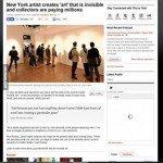 حقيقة معرض لوح مخفية في نيويورك