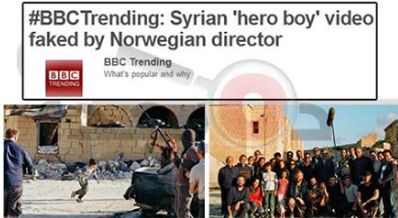 حقيقة فيديو أطفال سورييين تحت وابل من الرصاص
