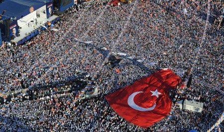 حقيقة ان ملايين تركي خرجوا نصرة أردوغان