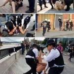 حقيقة تعدي الشرطة التركية