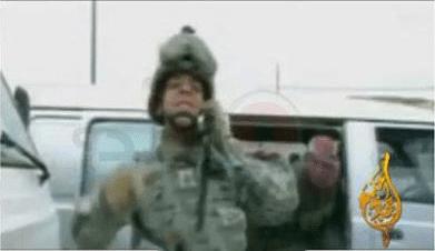 حقيقة خطف جندي امريكي علي الهواء مباشر