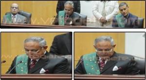 حقيقة صورة القاضي مع احمد نظيف