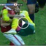 حقيقة سعد سمير يخرج إسلام محارب من الملعب