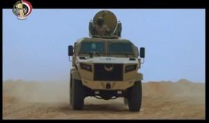 حقيقة تصنيع أول مدرعة من القوات المسلحة