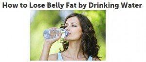 حقيقة شرب المياه و الكرش