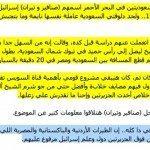 حقيقة احتلال اسرائيل لجزر سعودية
