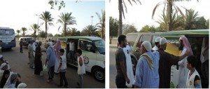 حقيقة إفطار فى ميكروباص على طريق مصر الاسكندرية .