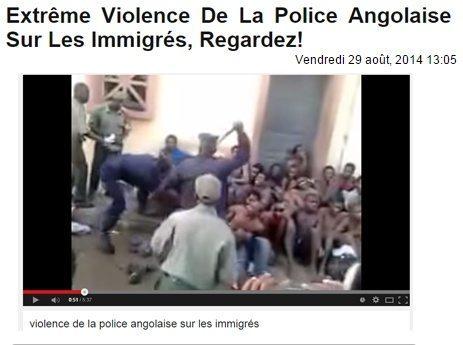 حقيقة فيديو ضرب المسلمين في افريقيا الوسطى