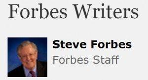 حقيقة اشادة ستيف فوربس بمرسي