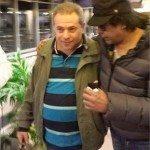 حقيقة صورة توفيق عكاشة مع ظابط موساد