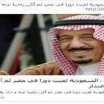 حقيقة تصريح الملك سلمان عن مصر