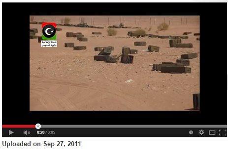 حقيقة فيديو القاء الطائرات اسلحة وذخائر علي الحدود الليبية المصرية