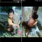 حقيقة طفل من بورما مربوط في عمود