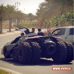 حقيقة سيارة باتمان فى التجمع الخامس
