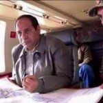 حقيقة السيسي في طياره يقود العمليات في سيناء