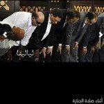 حقيقة ركوع عادل امام والفنانين في جنازة نور الشريف