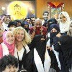 حقيقة احتفال نساء الامارات ببناء المعبد البوذي