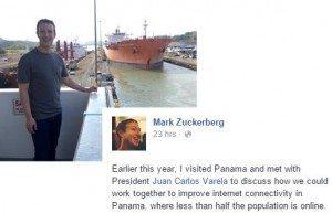 حقيقة زيارة مارك زوكربيرج لقناة السويس