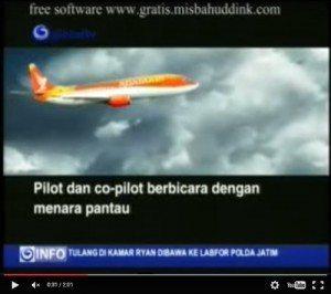 حقيقة فيديو لحظة سقوط الطائرة الماليزية