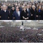 حقيقة تقدم زعماء العالم مسيرة مليونية في باريس ضد الإرهاب