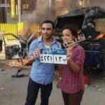 حقيقة صورة شيماء الصباغ بعد حرقها عربية شرطة