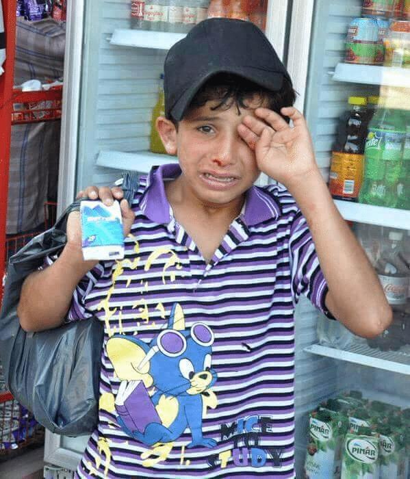 حقيقة الطفل السوري الذي تعرض للضرب و أردوغان عوضه