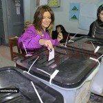 حقيقة عدم احقية تصويت سميرة سعيد على دستور 2013