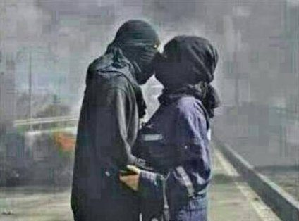 حقيقة قبلة اعضاء داش