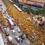 حقيقة مظاهرات في ماليزيا ضد زيارة السيسي