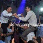 حقيقة صورة رقص المتحدث العسكرى المصرى مع المتحدث العسكرى الاسرائيلى
