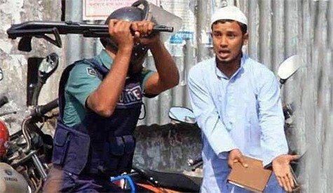 حقيقة صورة ضرب مسلم في بورما