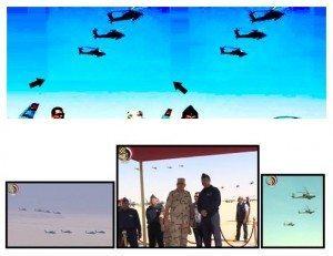 حقيقة صورة  الفريق صدقى صبحى  مع 6 طائرات