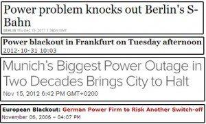 حقيقة أحتفال ألمانيا بمرور 31 عام دون انقطاع التيار الكهربائي