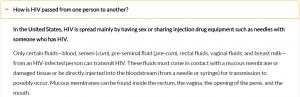 حقيقة وجود فيروس الايدز فى أولويز