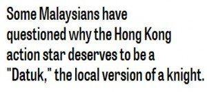 حقيقة إسلام الممثل الصيني المشهور جاكي شان