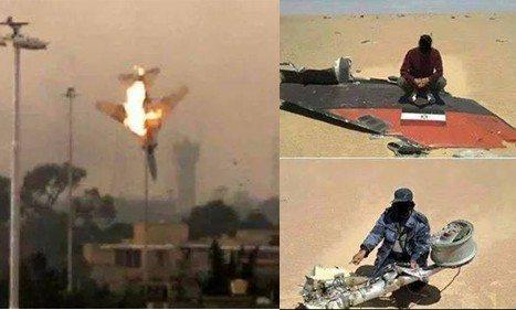 حقيقة اسقاط طائرتان مصريتان في ليبيا