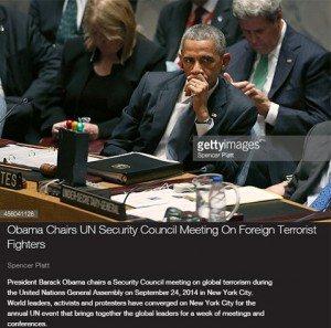 حقيقة صورة أوباما وهو بيتابع خطاب السيسي