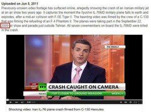 حقيقة فيديو سقوط الطائرة الماليزية
