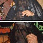 حقيقة صورة شيخ إخواني يغطي وجهه خشية فتنة النساء