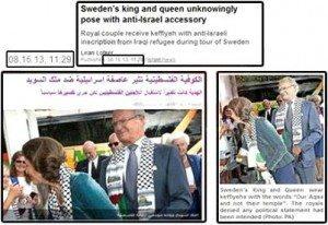 حقيقة ملك السويد و زوجته في الشارع للتضامن مع غزة