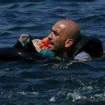 حقيقة صورة لاجئ سوري
