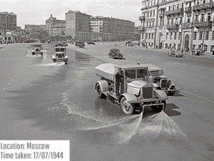 حقيقة صورة لغسيل شوارع مصر قديما