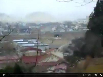 حقيقة فيديو كارثة طبيعية في بورما