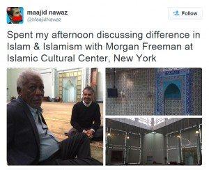 حقيقة إسلام مورجان فريمان