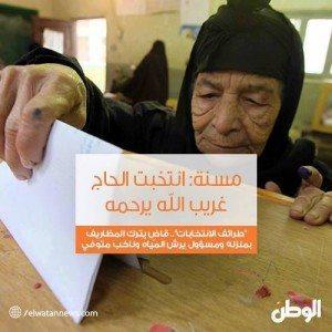 حقيقة تكدس الناخبين أمام اللجان الإنتخابية في أسيوط .